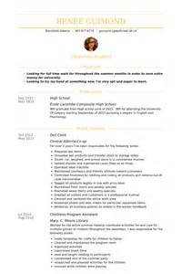 library clerk resume deli clerk resume sles visualcv resume sles database