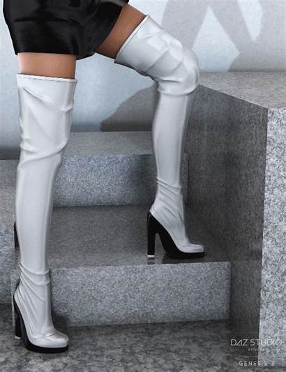 Boots Daz 3d Genesis Female Night Daz3d
