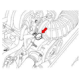 Chrysler Where The Iat Sensor What