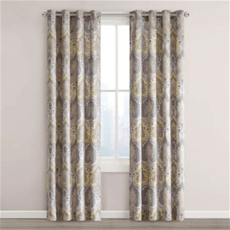 echo design jaipur grommet top window curtain panel