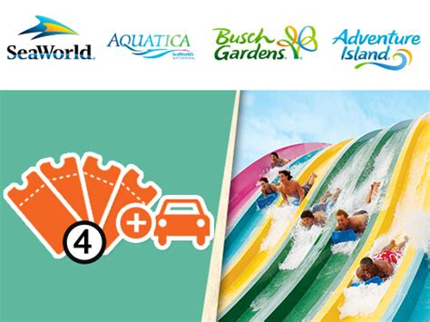 Bush Garden Ticket Price by Ticket Discounts For Single Day Multi Park Busch