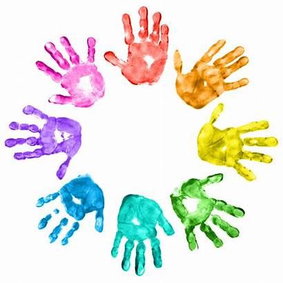 Emotional Social Learning Circle Handprints Kid Interview