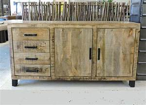 bahut style industriel bahut haut style industriel bahut With good meubles style campagne chic 2 buffet industriel campagne chic micheli design