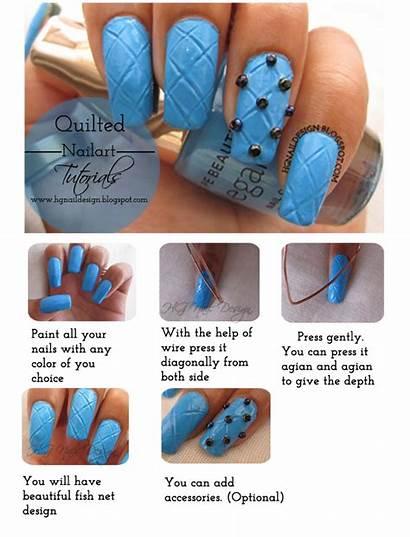 Nail Nails Quilted Tutorials Designs Swag Hg