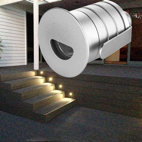 led step light outdoor recessed wall light l 12v 1w