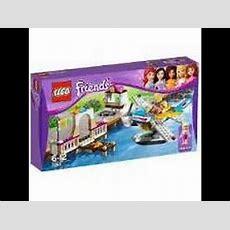 Review  Lego Friends Avião Aquático  Youtube