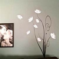 trending tree wall decals Trendy Flower Tree Wall Decal | Trendy Wall Designs