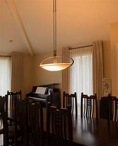 Hubbardton Forge Pendant In Dining Room Gross Electric