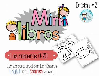 English Spanish Numeros Libros Bilingualmarketplace Kindergarten Writing