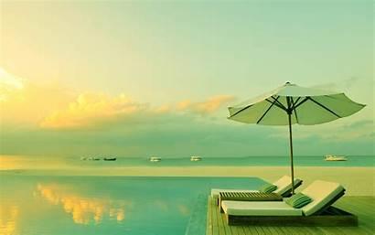 Relaxing Wallpapers 3d Pool Beach Water Wallpapersafari
