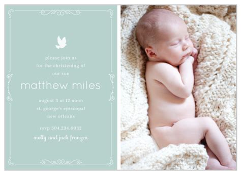 Baptism Invitations Christening Invitations Basic Invite