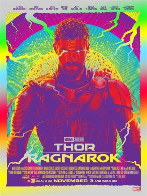 marvel 39 s thor ragnarok gets a new poster and tv spots