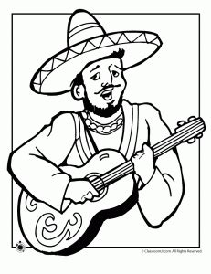 Mexican Independence Day Coloring Pages - El Grito 16 de ...