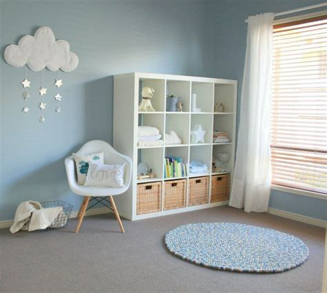 chambre bébé gris blanc bleu décoration chambre bébé garçon en bleu 36 idées cool