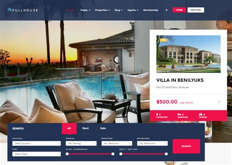 Real Estate Themes 15 Free Real Estate Themes Webdesignity