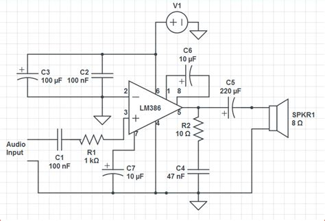 Noise Audio Amplifier Not Amplifying Electrical