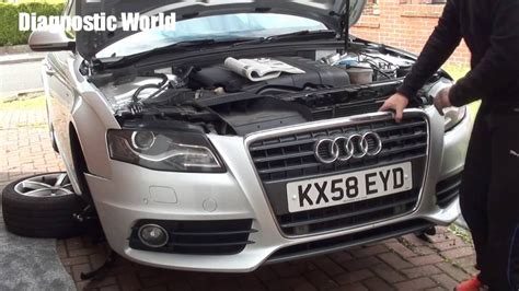 service manual removing 2004 audi s4 facelift front bper audi a4 b8 how to install rs4 style