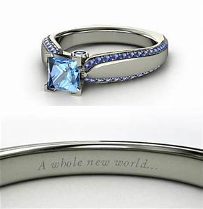 beautiful engagement rings inspired by disney princesses With jasmine wedding ring