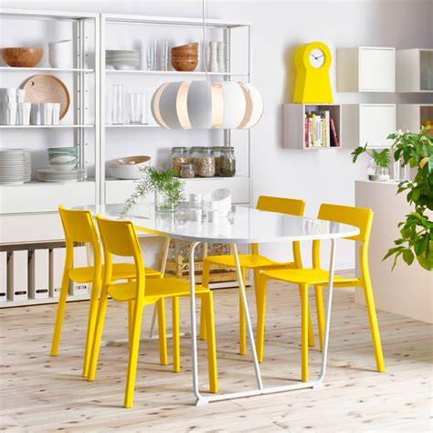 chaise jaune ikea a space for celebrating or just breakfast