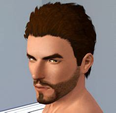 images  sims  male hair  pinterest sims