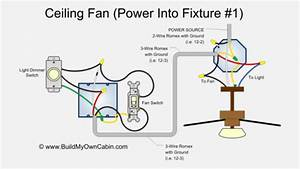 How To Connect Electrical Wires For Ceiling Fan