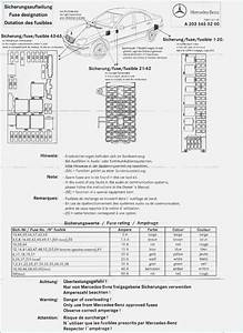 2003 Mercedes C320 Fuse Diagram