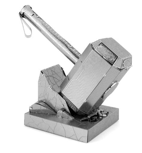 thor mjolnir metal earth model kit