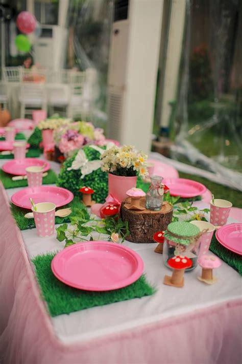 garden table setting ideas 178 best fairy birthday party images on pinterest