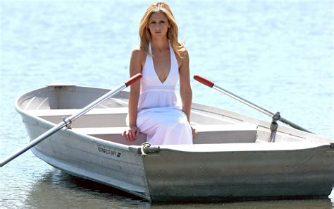 Girls On Boats by Woman In Boat Background Wallpapers For Your Desktop And