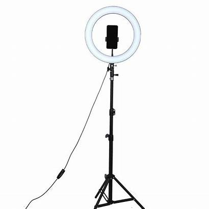 Ring Dimmable Tripod 26cm Selfie Stick Lamp