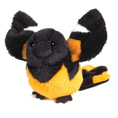 oriole bird webkinz lil kinz plush toy