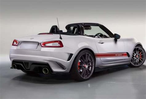 fiat  spider abarth specs teased product reviews net