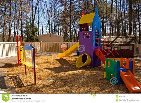 daycare playground equipment stock photo image 2182572