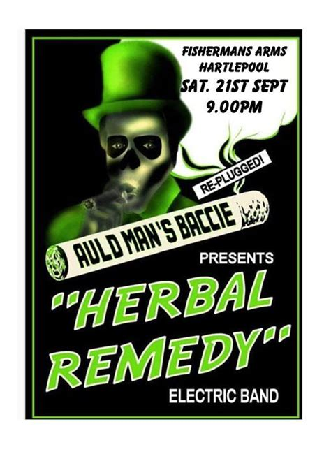 Herbal Remedy at The Fish, The Fishermans Arms, Hartlepool ...