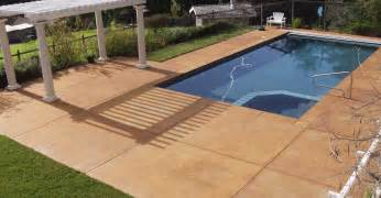 concrete decks grey concrete pool deck color concrete