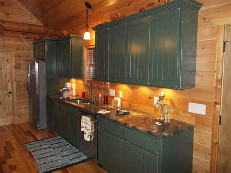 cabin style kitchen cabinets solid american custom hardwood cabin kitchen charles r