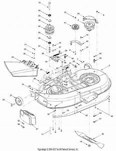 33 Troy Bilt 42 Deck Belt Diagram