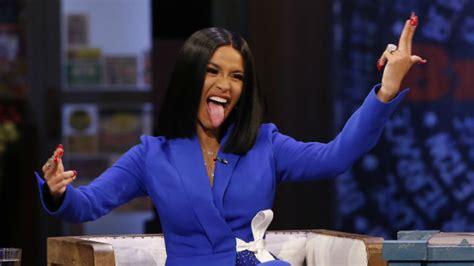 "Cardi B Returns To ""jimmy Kimmel Live!"" To Talk Fame"