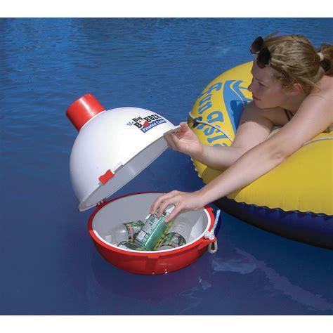 Boat Shaped Drink Cooler by The Big Bobber Floating Cooler Floating Coolers