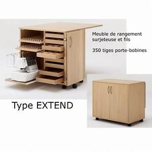 Meuble Rangement Couture : meuble de rangement fils et machine rauschenberger coutureo ~ Farleysfitness.com Idées de Décoration