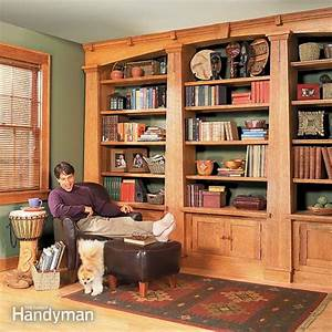 Built-in Bookcases The Family Handyman