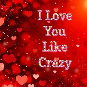 I Love You Like Crazy Digital Art by Clive Littin