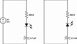 howto discharge a capacitor through an led by removing the With of electronic capacitor and it39s use electrical and electronic