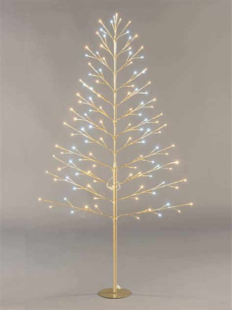 pre lit flat twig tree 120cm christmas decoration 96 led