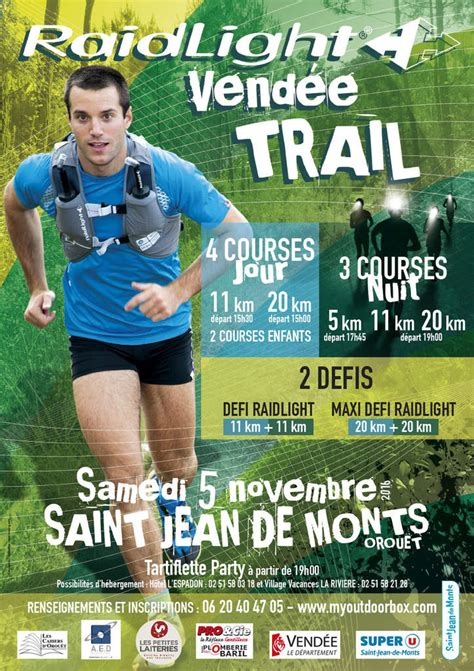 trail jean de monts raidlight vend 233 e trail 1000 coureurs au d 233 part st jean de monts vend 233 e triathlon athletisme