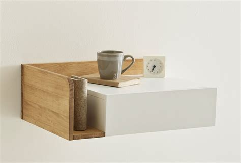 table cuisine la redoute 10 easy pieces wall mounted bedside shelves with drawers