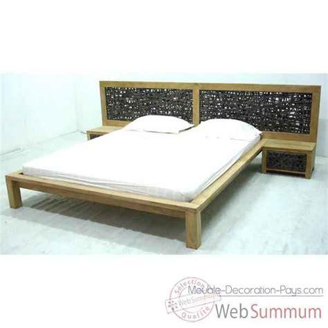 tete de lit tressee lit avec t 234 te de lit tress 233 e meuble d indon 233 sie 56673 dans autre meuble indon 233 sie