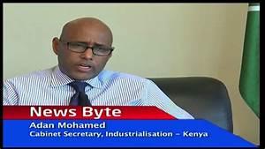 Adan Mohamed on Industrialisation in Kenya - YouTube