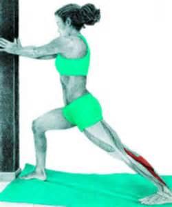 Standing Gastrocnemius Calf Stretch