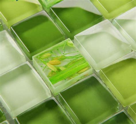 green glass tile mosaic tile glass backsplash dinner